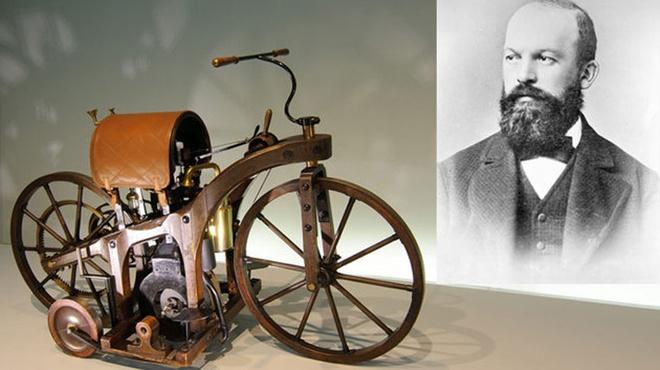 Chiếc xe gắn máy đầu tiên ra đời khi nào? - Xe máy