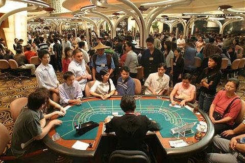 Người Việt chơi casino ở Campuchia nhiều.