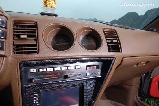 Nissan Z31 hang hiem van chay tot sau gan 30 nam hinh anh 11 Bệ trung tâm cầu kỳ với vật liệu bọc da.