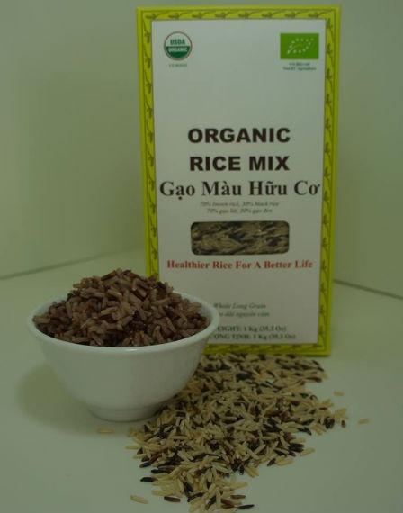 Thuc hu gao chong HIV, chua dong tinh hinh anh 2 Ở Việt Nam mới chỉ có một thương hiệu gạo có chứng nhận gạo hữu cơ.