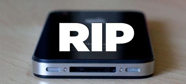 Tam biet iPhone 4 hinh anh