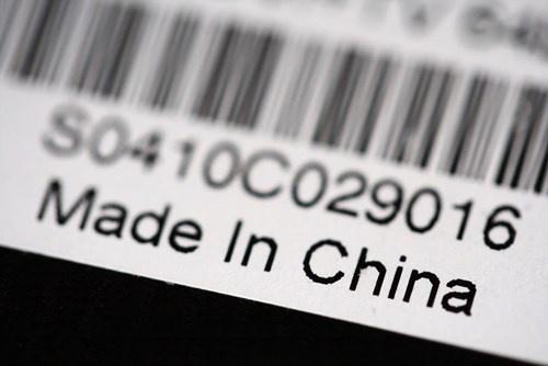 Hang 'Made in China' mat thi truong hinh anh