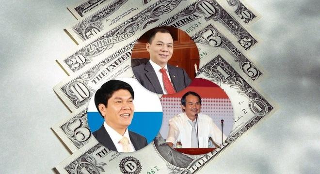 3 dai gia giau nhat Viet Nam thu ve hang tram ty dong/ngay hinh anh 1 3 đại gia giàu nhất Việt Nam thu về hàng trăm tỷ đồng/ngày.