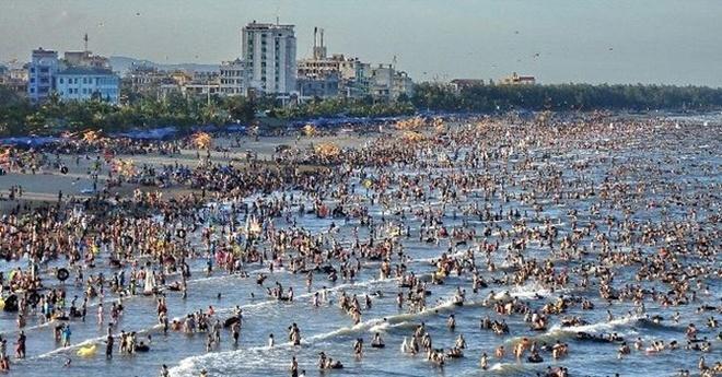 Tap doan Dubai se dau tu 'sieu du an' du lich tai Thanh Hoa hinh anh 1 Bãi biển Sầm Sơn, Thanh Hóa.