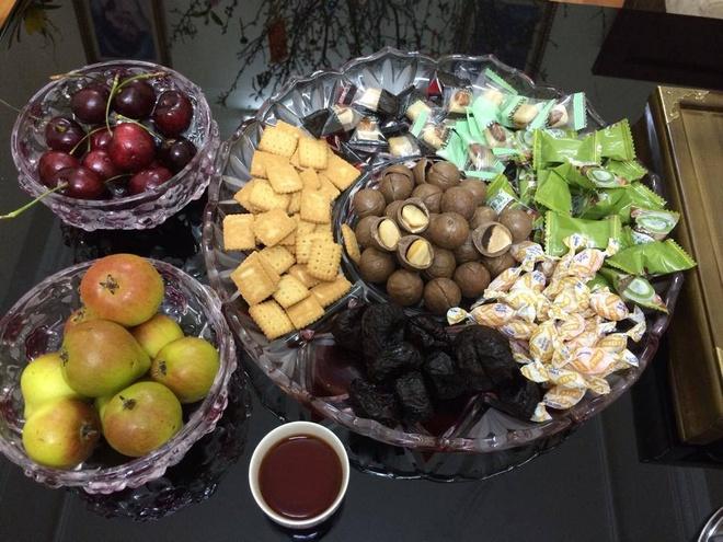 Hạt mắc ca là loại hạt dinh dưỡng xa xỉ trong gia đình Việt. Ảnh: Ngọc Lan.