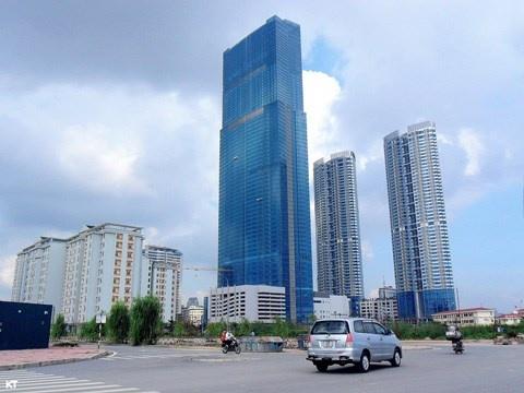 Viet Nam co bao nhieu bai do truc thang tren noc nha? hinh anh 1 Toà nhà Keangnam Landmark Tower, Hà Nội.