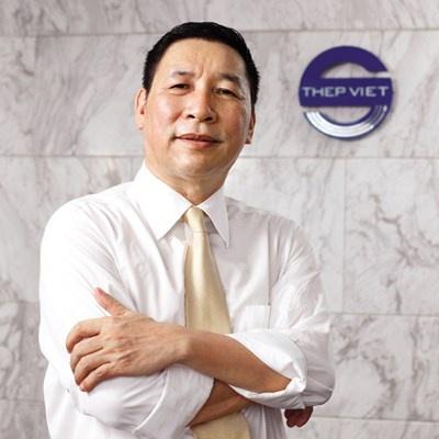 Ông Đỗ Duy Thái, Tổng giám đốc Công ty TNHH TM - SX Thép Việt.