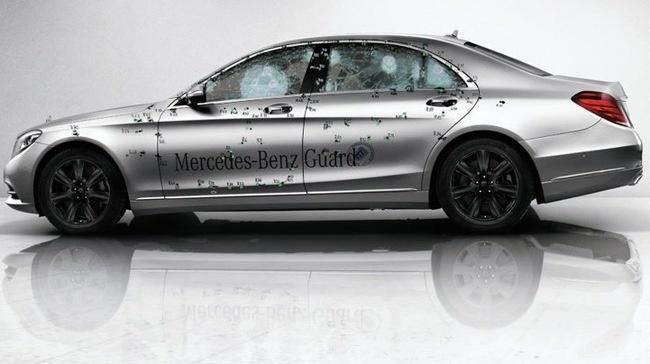 Mercedes-Benz S-Class Guard - xe sang chong dan danh cho VIP hinh anh
