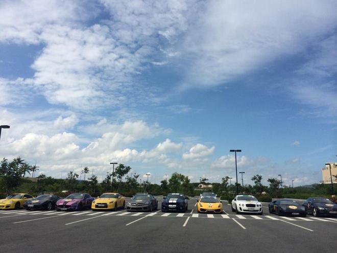 Hanh trinh sieu xe Viet va nguy co thoai trao hinh anh 4 Đội hình của hành trình siêu xe Vietnam Team diễn ra vào ngày 5/8 vừa qua.