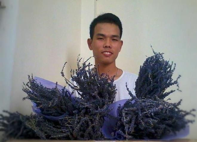 'Chang trai lavender' khoi nghiep tu 10 trieu dong hinh anh
