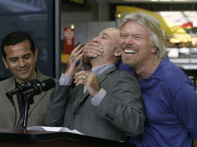 Nhung hinh anh 'di thuong' cua ty phu Richard Branson hinh anh 21