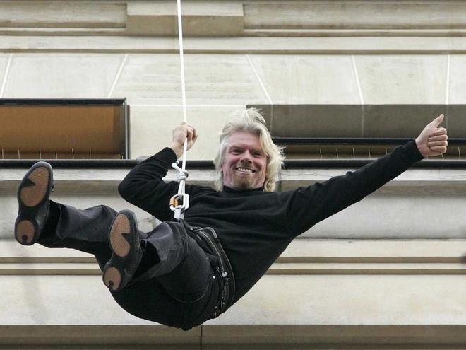 Nhung hinh anh 'di thuong' cua ty phu Richard Branson hinh anh 22