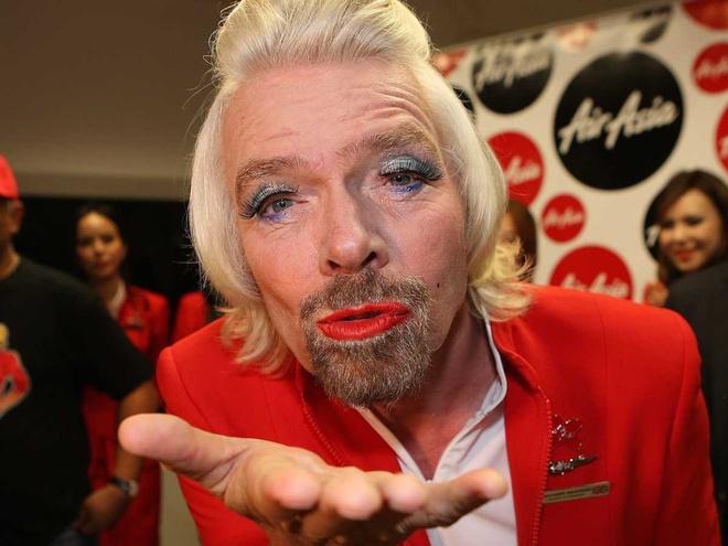Nhung hinh anh 'di thuong' cua ty phu Richard Branson hinh anh 2