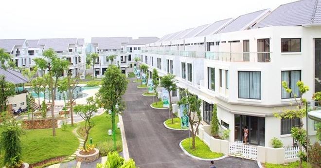 Hang loat du an bat dong san chao ban sau thang Ngau hinh anh 1 Dự án biệt thự Lâm Viên, khu đô thị Đặng Xá, Hà Nội.