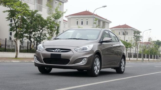 Hyundai Accent Giá bán của Hyundai Accent tại Việt Nam:  Accent (1.4L MT): 551.200.000 VNĐ Accent (1.4L AT) : 599.000.000 VNĐ