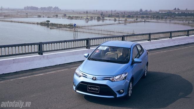 Toyota Vios 2014 Giá bán Toyota Vios 2014  Vios 1.5G (số tự động): 612.000.000 (VNĐ) Vios 1.5E (số sàn): 561.000.000 (VNĐ) Vios 1.3J (số sàn): 538.000.000 (VNĐ).