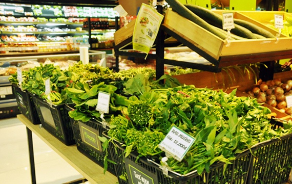 Nhiều người chỉ dám mua rau sạch trong siêu thị, cửa hàng rau an toàn.