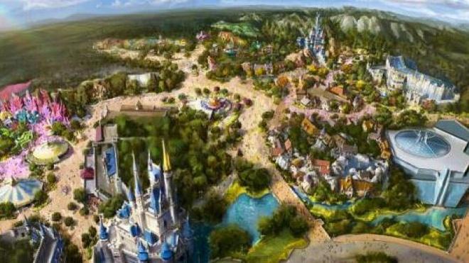 Du an 4,6 ty USD mo rong cong vien Tokyo Disneyland hinh anh