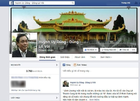 Ong Dung 'lo voi' to co ke mao danh lap Facebook hinh anh