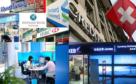 'Mieng banh lon' cua ngan hang ngoai o Viet Nam hinh anh 1 Các ngân hàng ngoại đang âm thầm thể hiện sức mạnh và chiếm lĩnh thị trường Việt Nam.