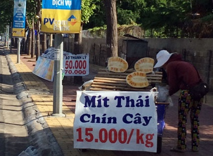 Can than voi 'mit Thai chin cay' hinh anh