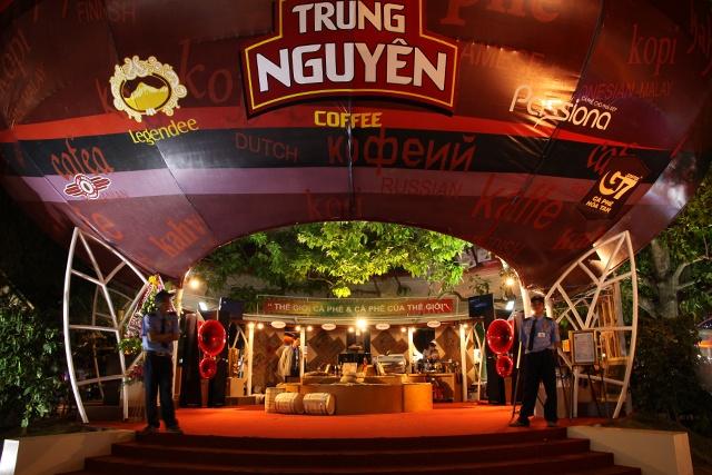 Bi mat cua Trung Nguyen va 'vua' ca phe Dang Le Nguyen Vu hinh anh 2 Một cửa hàng cà phê Trung Nguyên.