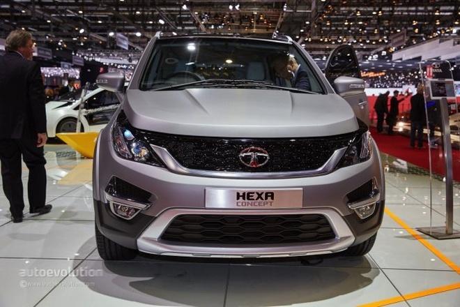 Xe re nhat the gioi tung mau cao cap dep sung so hinh anh 1 Hexa concept của Tata Motors tại triển lãm Geneva 2015.
