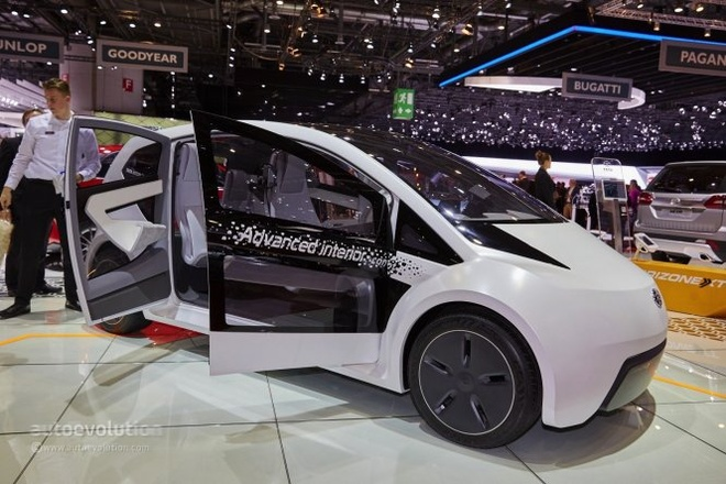 Xe re nhat the gioi tung mau cao cap dep sung so hinh anh 2 Chiếc ConnectNext concept tại triển lãm Geneva 2015.