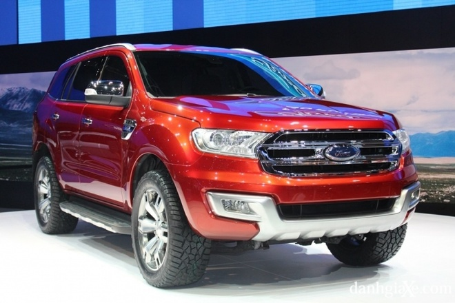 Khi nao Ford Everest 2015 ve Viet Nam? hinh anh