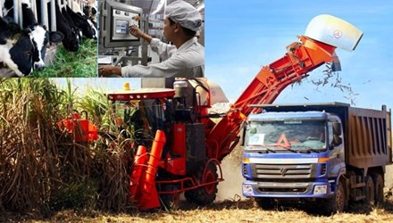 """Khi dai gia lam nong dan hinh anh 1 Nhiều doanh nghiệp lớn đang """"cày cấy"""", """"gặt hái"""" trên mảnh đất """"vàng"""" mang tên nông nghiệp công nghệ cao."""