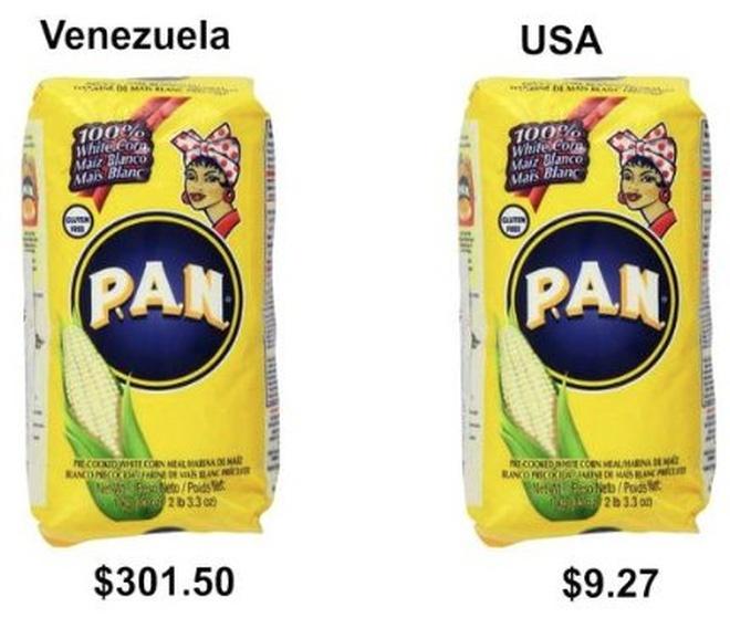 'Do' gia thuc pham o Venezuela va My hinh anh 4