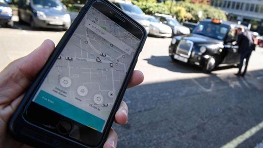 EU yeu cau quan ly Uber nhu cong ty taxi hinh anh 1