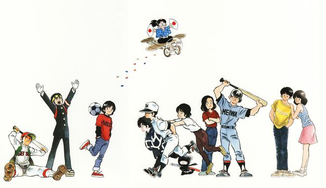 Adachi Mitsuru - cha de cua nhung bo truyen tranh the thao xuat sac hinh anh 3 mantastic.png