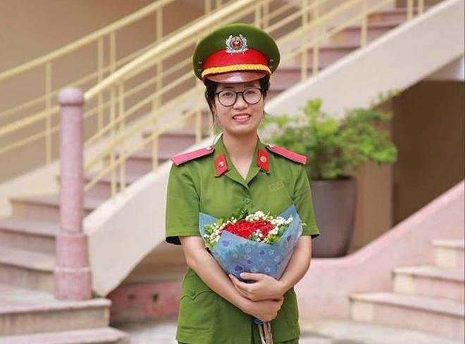 Nu a khoa xinh dep cua DH Phong chay Chua chay hinh anh
