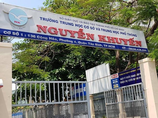 THCS va THPT Nguyen Khuyen: 'Truong hoc nhu trai linh' hinh anh