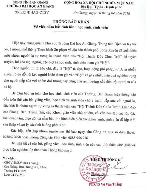 Sinh vien Sai Gon bo hoc di truyen dao 'Hoi Thanh Duc Chua Troi' hinh anh 2