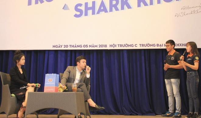 Shark Khoa: Khoi nghiep bat dau tu y tuong va su khac biet hinh anh 2