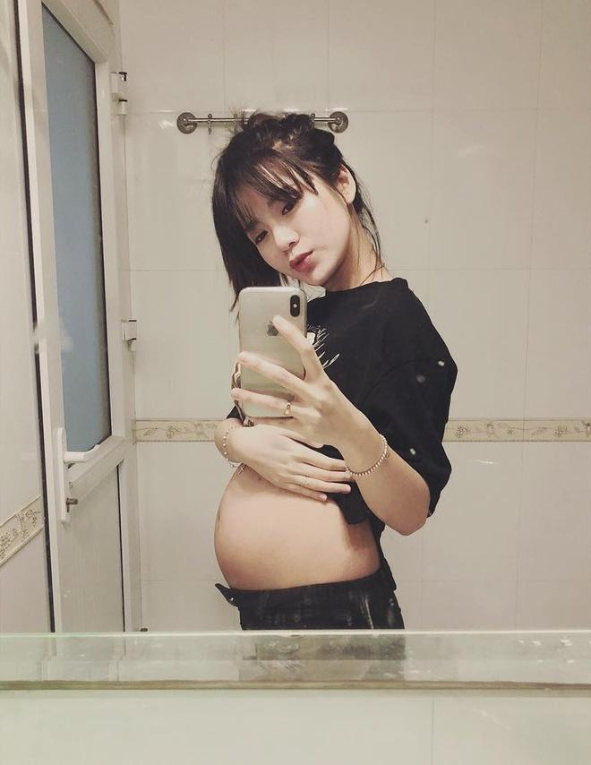 Hot girl Tu Linh ke chuyen lan dau sinh con hinh anh 1