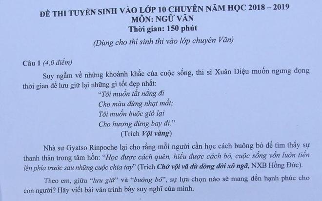 De thi mon chuyen vao lop 10 truong Trung hoc Thuc hanh TP.HCM hinh anh