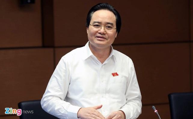 Bo truong Phung Xuan Nha: Ky thi THPT dac biet nhe nhang hinh anh