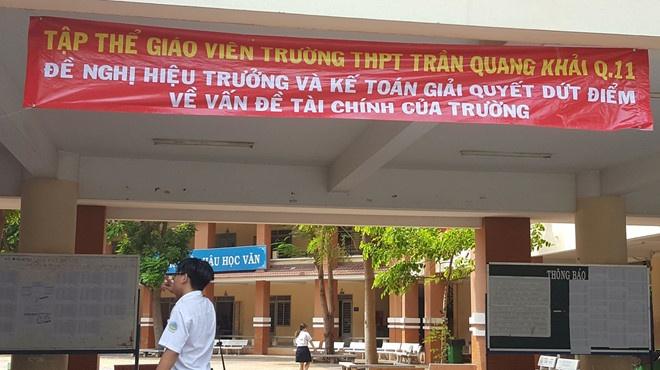 Thu hoi hon nua ty dong chi sai o truong THPT Tran Quang Khai hinh anh