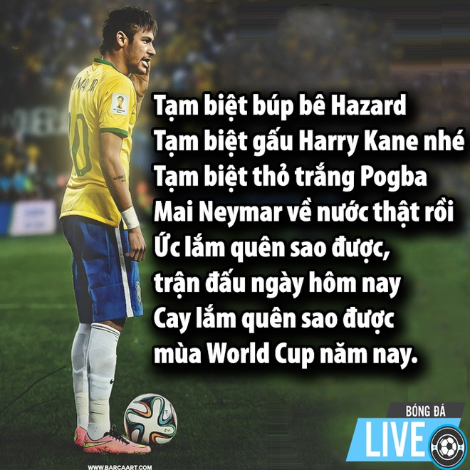 'Thanh an va' Neymar de lai World Cup loat anh che truoc khi ve nuoc hinh anh 5