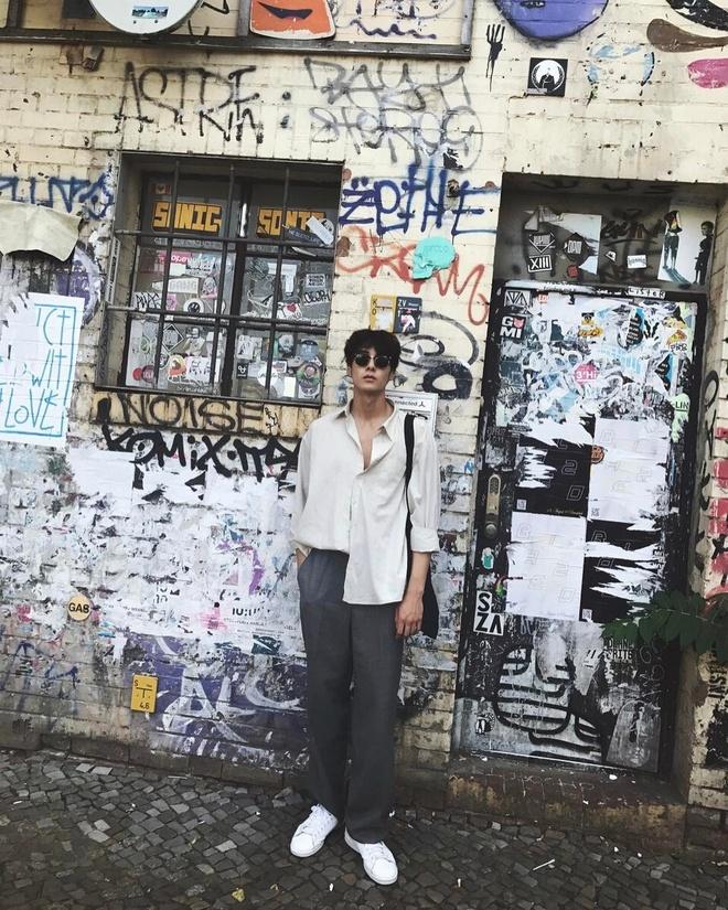 Hot boy Han Quoc cao 1,86 m, dep trai nhu ca si than tuong hinh anh 9