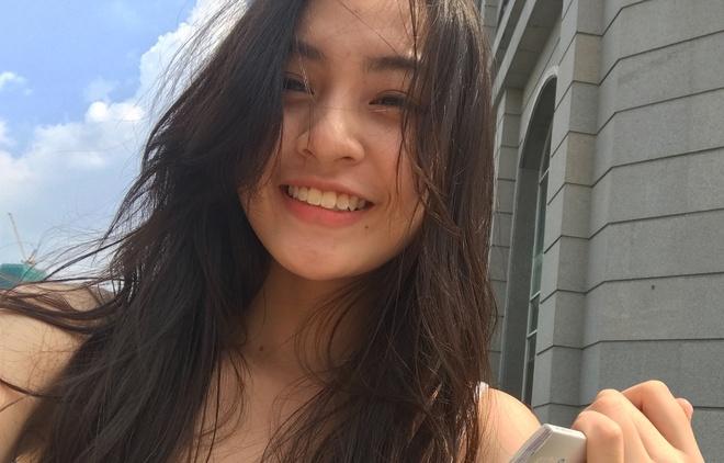 'Hot girl IELTS' Nguyen Lam Thao Tam truong thanh, xinh xan o tuoi 18 hinh anh
