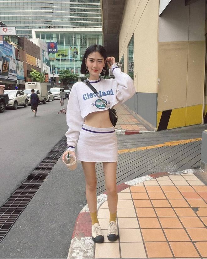 Hot girl Thai Lan co vong eo con kien, tre hon nhieu so voi tuoi 30 hinh anh 1