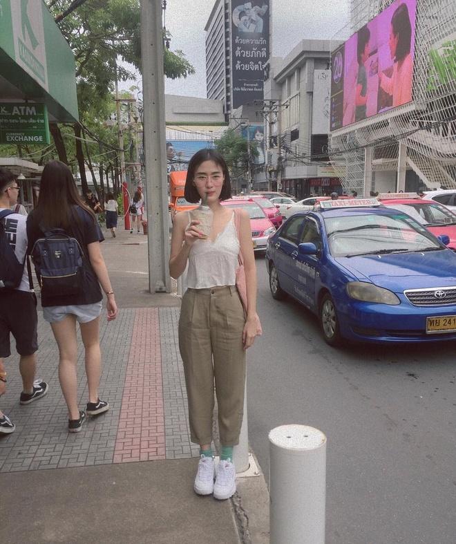 Hot girl Thai Lan co vong eo con kien, tre hon nhieu so voi tuoi 30 hinh anh 11