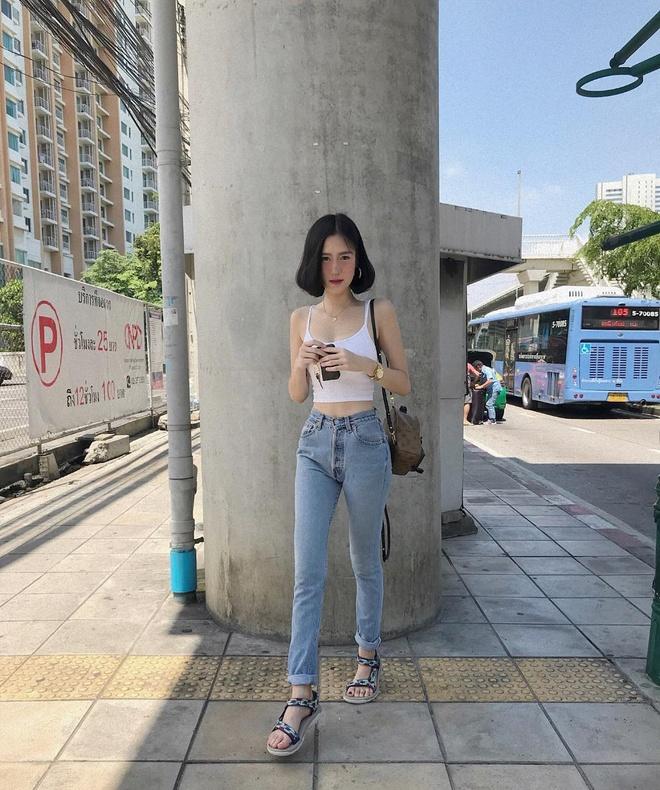 Hot girl Thai Lan co vong eo con kien, tre hon nhieu so voi tuoi 30 hinh anh 15
