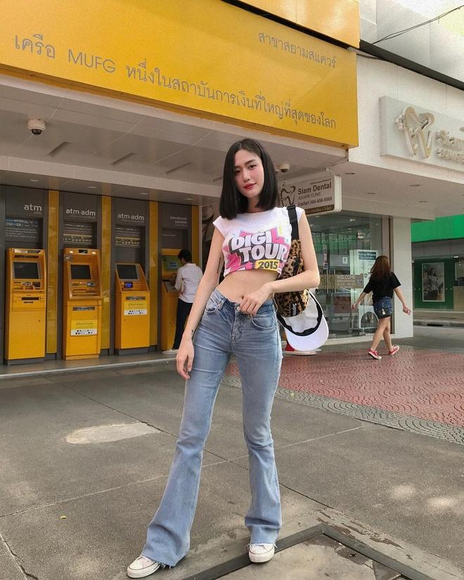 Hot girl Thai Lan co vong eo con kien, tre hon nhieu so voi tuoi 30 hinh anh 16