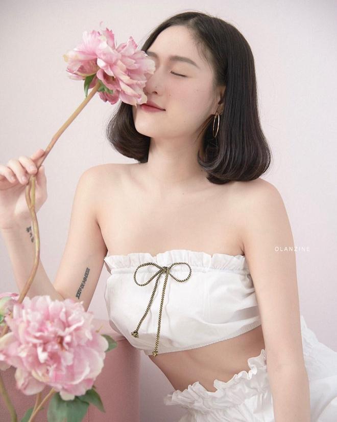 Hot girl Thai Lan co vong eo con kien, tre hon nhieu so voi tuoi 30 hinh anh 9