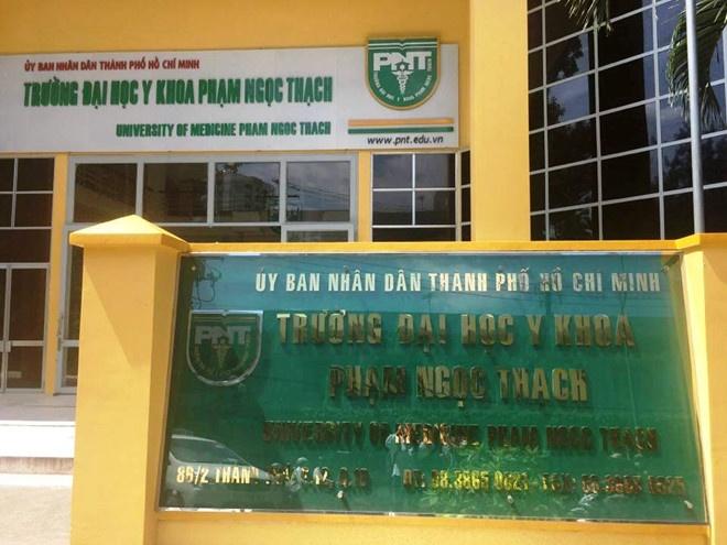 DH Y khoa Pham Ngoc Thach cong bo hai muc hoc phi cua sinh vien hinh anh